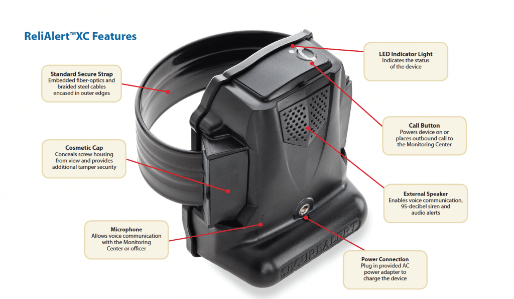gps ankle monitor by reliAlert